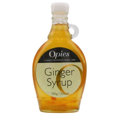 Opies Ginger Syrup Bottle 350g 236ml
